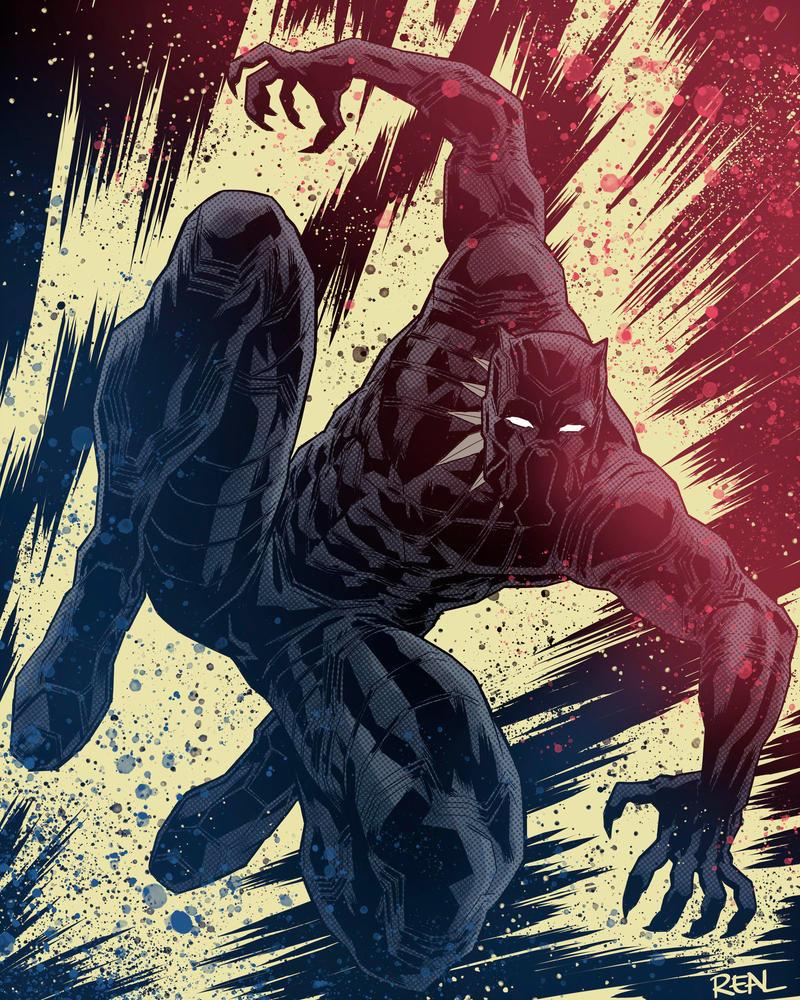 Black Panther - Fanart