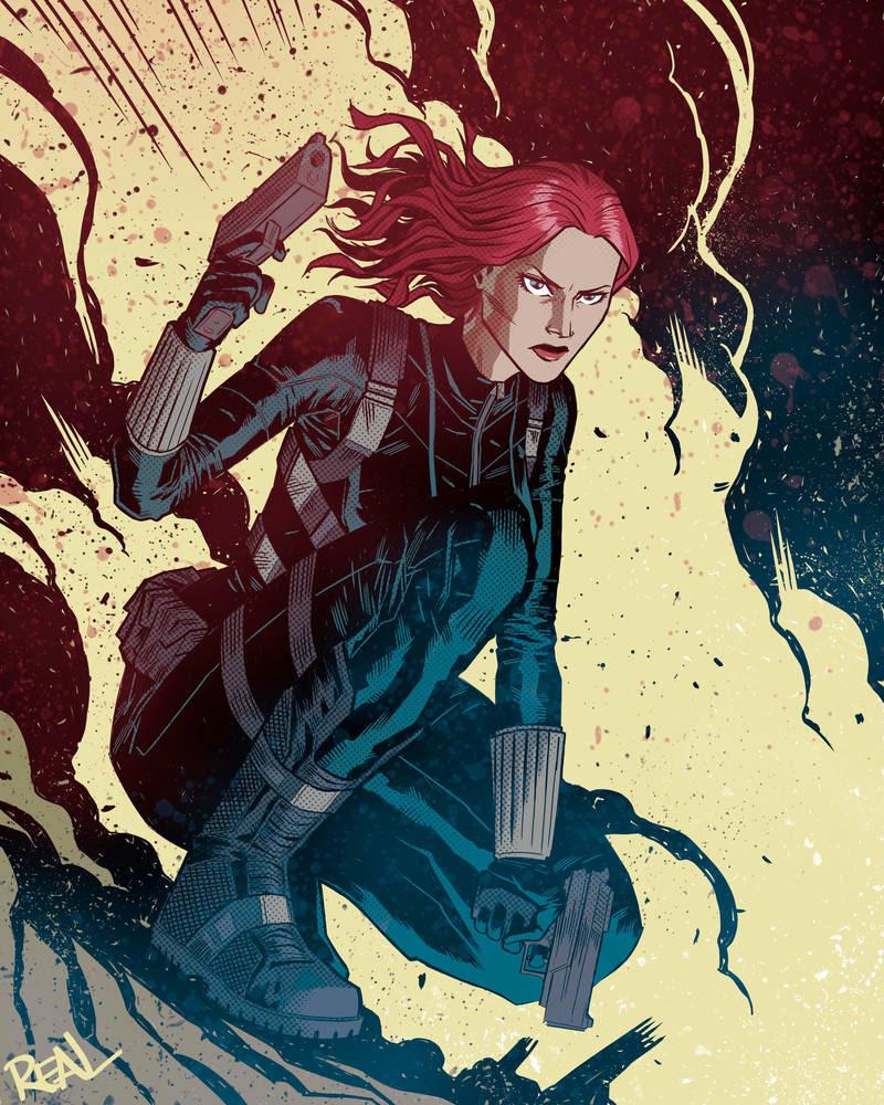 Black Widow - Fanart