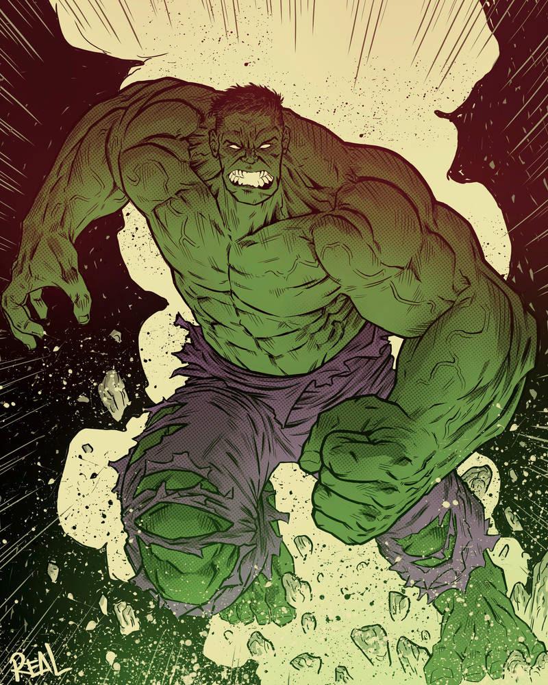 Hulk - Fanart